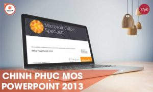 MOS Powerpoint 2013